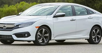 Honda Civic 2019 Side Image