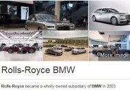 Rolls Royce would be Dead without BMW