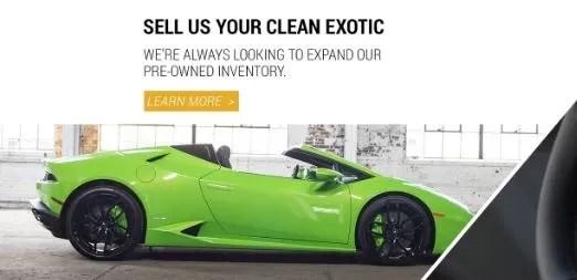 Sell you clean Exotic lamborghini