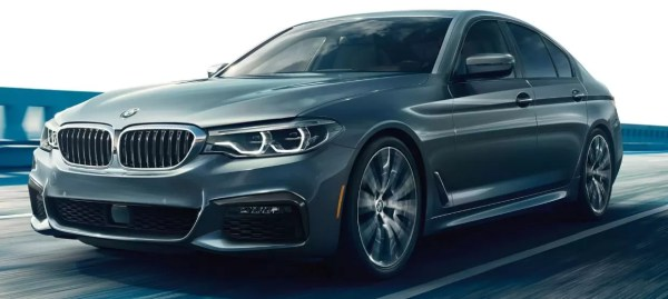 2020 BMW 5 Series title image