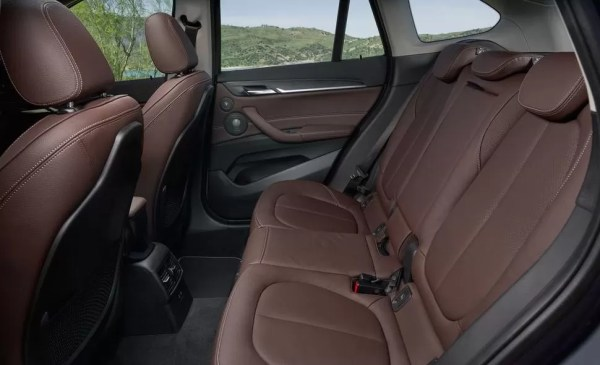 2020 BMW X1 Series rear seats view