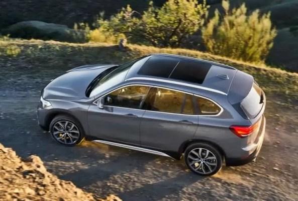 2020 BMW X1 Series upside view