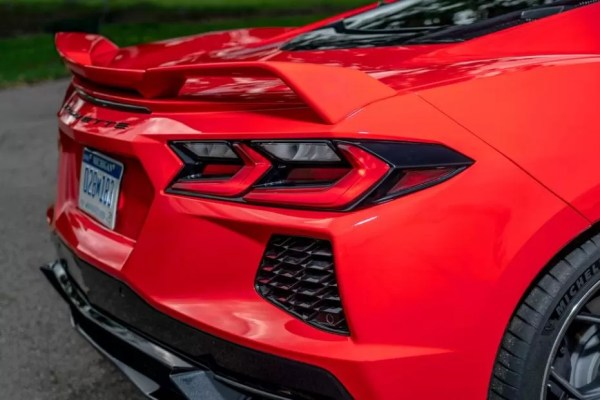 2020 Chevrolet corvette Rear taillights beautiful view