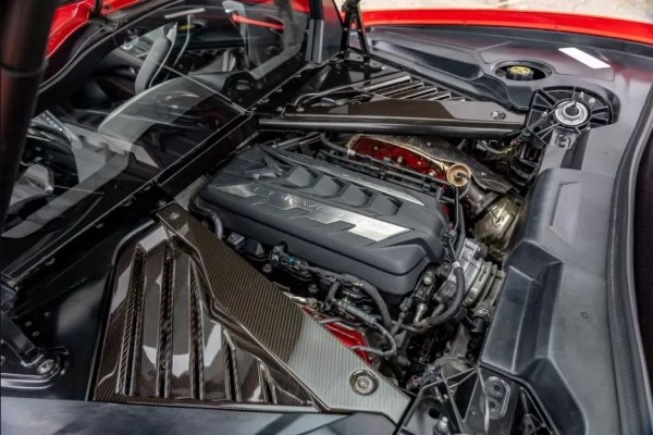2020 Chevrolet corvette engine view
