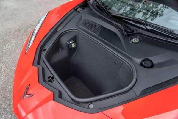 2020 Chevrolet corvette luggage area view