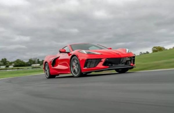 2020 Chevrolet corvette sport view