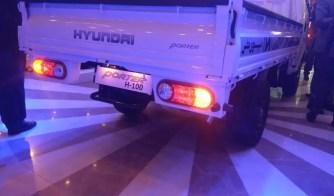 2020 Hyundai Porter H 100 rear tail lamps view