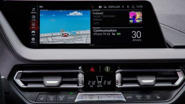 BMW 2 Series Gran Coupe 1st Generation infotainment screen