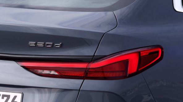 BMW 2 Series Gran Coupe 1st Generation tail lights close view