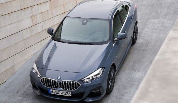 BMW 2 Series Gran Coupe 1st Generation upside view