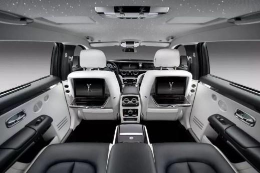 2021 Rolls Royce Ghost New Model full interior view