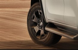 Toyota Fortuner TRD celebrity edition solid TRD 18 alloy wheels india