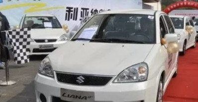 1st Generation Suzuki Liana feature image