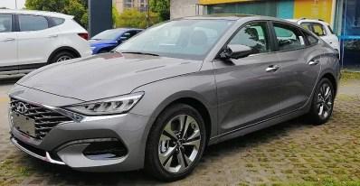 1st generation Hyundai Lafesta EV sedan feature image