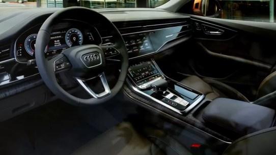 1st generation Audi Q8 SUV beautiful interior view