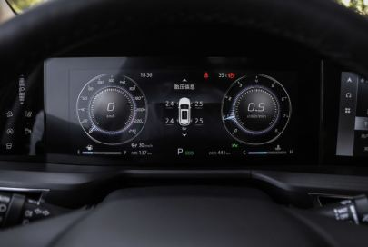 2nd generation cs75 suv instrument cluster view
