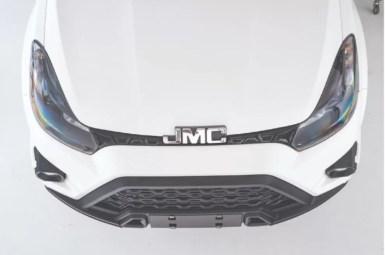 2nd generation jmc vigus 5 pickup bonnet view