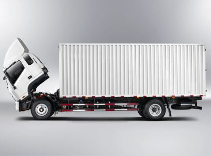 JAC HFC 1042k Pick Truck full side view
