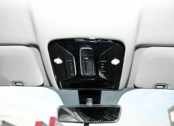 2nd Generation Jetour X70 Plus cabin lights