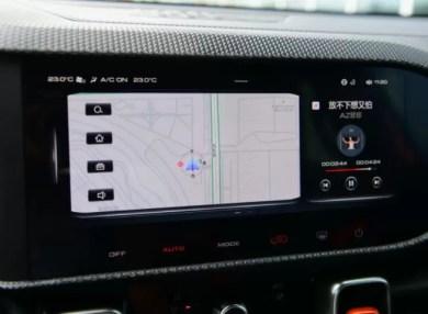 1st generation Haval Big Dog SUV navigation view