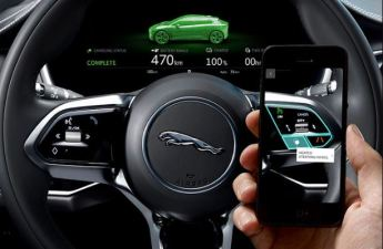 1st generation Jaguar i pace all Electric SUV battery range and charging percentage