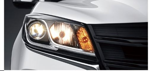 1st generation DFSK Glory 500 suv automatic front head lamps view