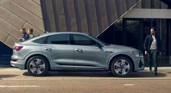 1st generation audi e tron sportback fully electric side profile