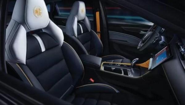 3rd generation mg6 pro sedan beautiful front cabin interior view