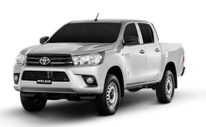 8th generation Toyota hilux E pickup truck title image