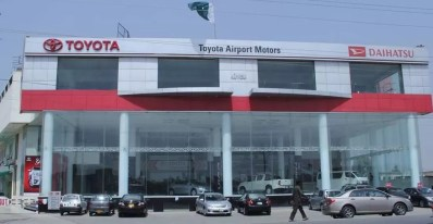 Toyota Indus Motors cars Dealers in Pakistan
