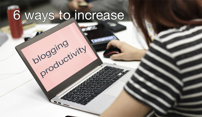 blogging productivity