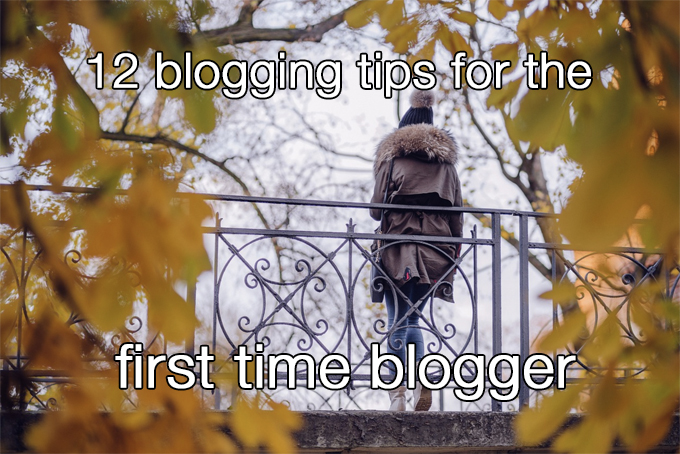 first time blogger