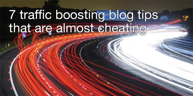 traffic boosting blog tips