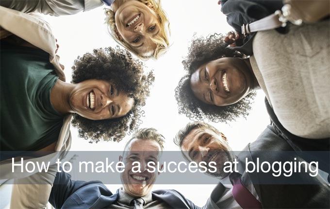 success at blogging