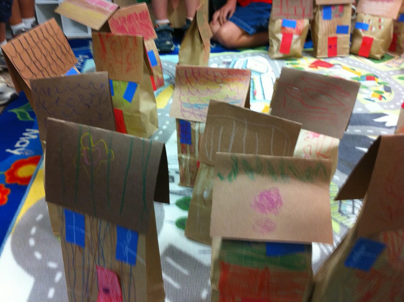 Homes Preschool Theme