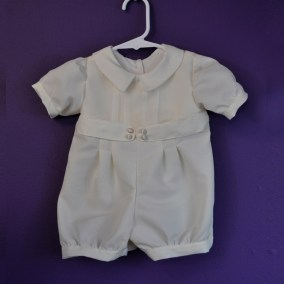 Romper pleated short 01