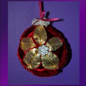Ornament poinsettia 05