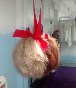 fur ball ornament