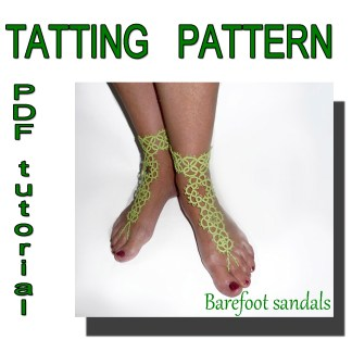 Barefoot sandals easy pattern