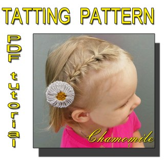 Chamomile tatting pattern