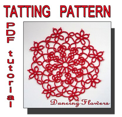 Dancing Flowers tatting pattern
