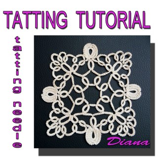 Doily Diana tatting pattern