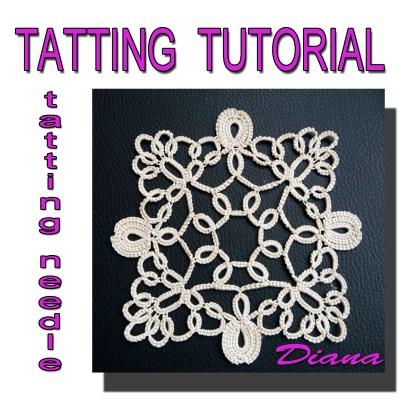 Doily Diana tatting pattern