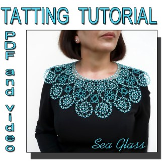 Sea Glass tatting pattern