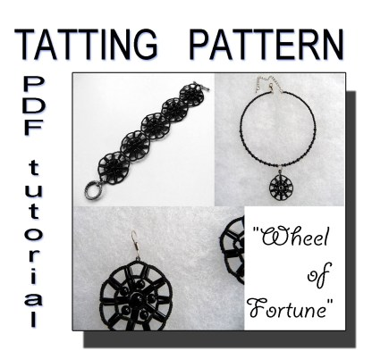Wheel of Fortune tatting pattern