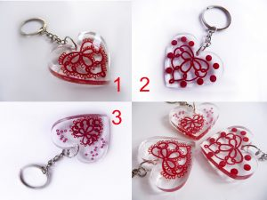 Tatting in resin, part 2