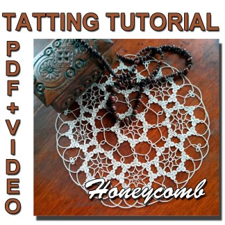 Honeycomb doily pattern