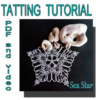 Sea Star tatting pattern