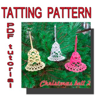 Pattern Christmas bell 2