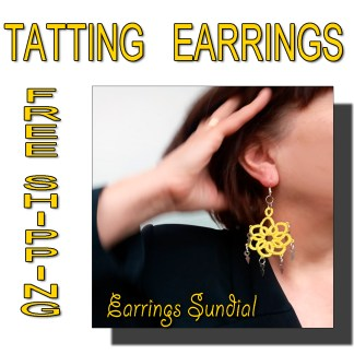 Earrings Sundial